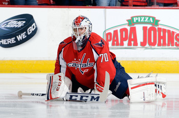 Braden Holtby was clutch for the Capitals in Game 1.