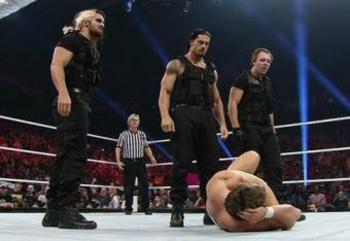 Will The Shield end Team Hell No's tag title reign at Extreme Rules? (photo credit: wwe.com)