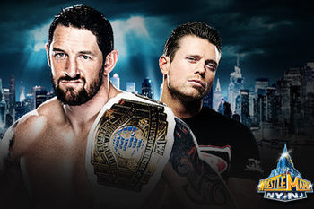 Can The Miz regain the Intercontinental title again at Extreme Rules? (photo credit: cagesideseats.com)