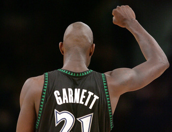 Before Boston, Kevin Garnett dominated for the Timberwolves.
