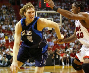 In the aftermath of an NBA Finals loss, Dirk Nowitzki was just about unguardable.
