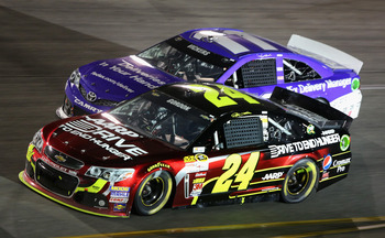 Jeff Gordon was the main giuy in the Hendrick stable prior to Johnson