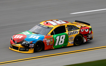 Kyle Busch is poised to take over after Johnson.