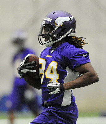 Here's hoping there's no curse in the no. 84 jersey assigned to first-round pick Cordarrelle Patterson.