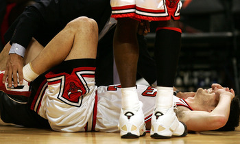 Kirk Hinrich will miss Game 7 with a bruised calf.