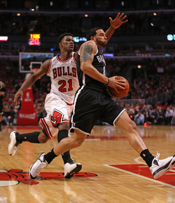 The Nets have outscored the Bulls 49-20 on fast-break points in their three wins.