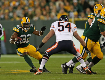 It will be odd to watch the Bears defense without Brian Urlacher.
