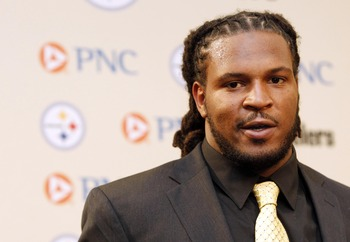 Jarvis Jones will replace James Harrison in 2013.