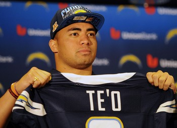 Manti Te'o should feel at home in San Diego.