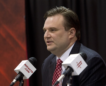 Houston Rockets GM Daryl Morey