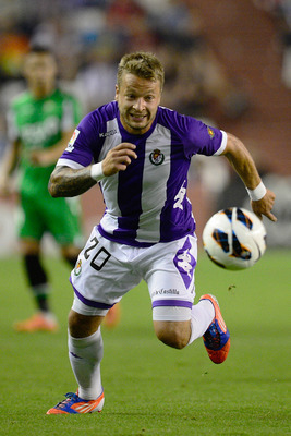 Ebert was Valladolid's star performer, building on what has been a solid season.