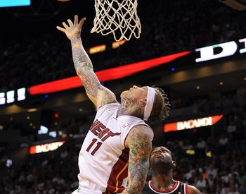 Chris Andersen has made a big difference for Miami.