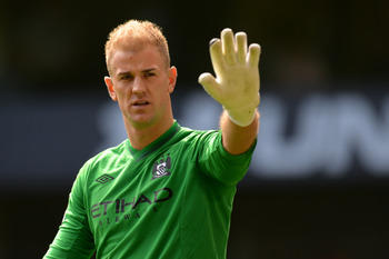 Joe Hart's demeanor makes him likable.