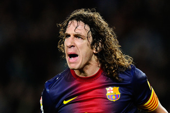 Carles Puyol is the captain of Barcelona, but has the respect of numerous fans.