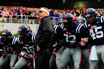 Hugh Freeze will look to rise in the SEC standings in his second season at Oxford.