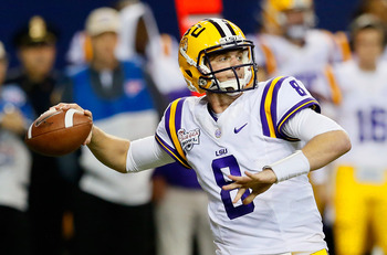 Zach Mettenberger will have to have a great season to make up for all of LSU's departures.