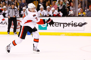 Kyle Turris is the Senators' top center.