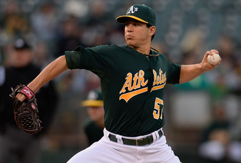 It's Milone who leads the staff so far this year.