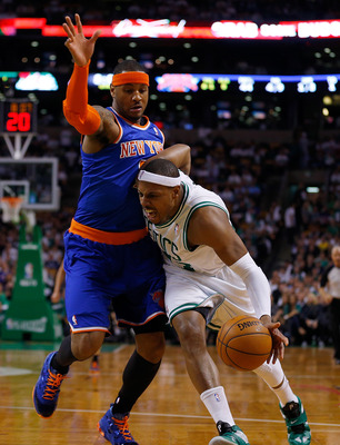 Pierce had a rough exit from the postseason--was it his exit from Boston?