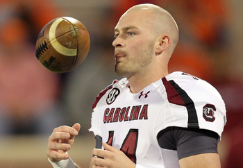 South Carolina QB Connor Shaw