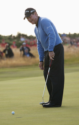 Tom Watson missed a short putt on the 72nd hole of the 2009 Open Championship