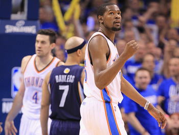 Without Westbrook, Durant needs to be assertive on offense.