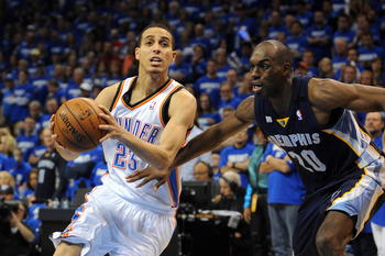 Kevin Martin is more than capable of stepping up, as he showed in Game 1.