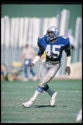 Easley with the Seahawks