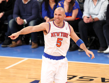 New York Knicks' Jason Kidd