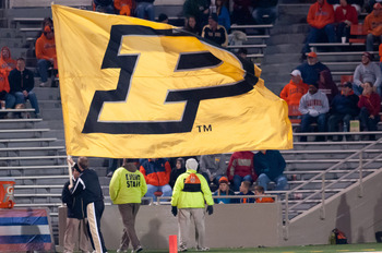 Purdue planted the flag in Champaign to continue on the road to a bowl in 2012