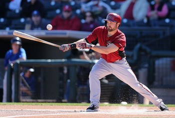 Adam Eaton is close to claiming his spot as Arizona's leadoff hitter.