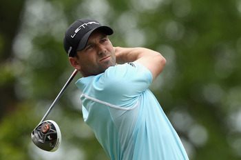 Sergio Garcia claimed the 2008 Players Championship at TPC Sawgrass.