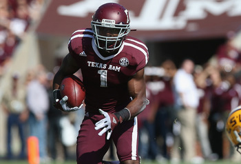 Texas A&M RB Ben Malena