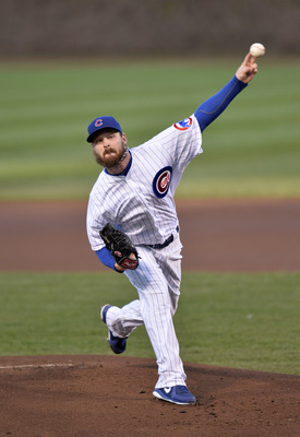 Travis Wood has turned into a great pitcher for the Cubs.