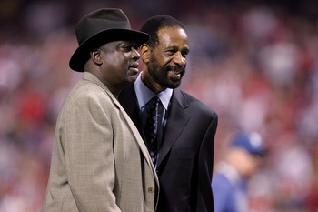 Gary Matthews (left) has parlayed a huge 1983 NLCS into a pretty decent gig.