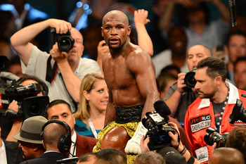 Undefeated in 44 fights, will Mayweather trade leather with Canelo Alvarez next?