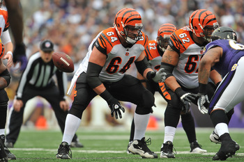Kyle Cook remains the incumbent starter at the center position for the Bengals.