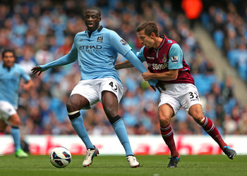 City will want to see a lot of Yaya Toure on the ball against Wigan.