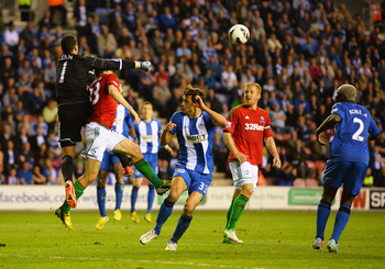 Wigan's loss to Swansea City was a real blow to its hopes of staying up.