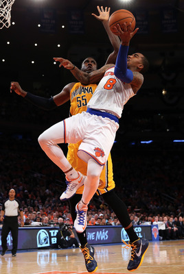 Roy Hibbert and the Pacers must limit the Knicks' output to below 100 points each time like they did in Game 1 for them to succeed.