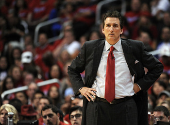 Vinny Del Negro had a forgettable coaching performance.