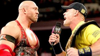 Ryback and John Cena (Courtesy of WWE.com)