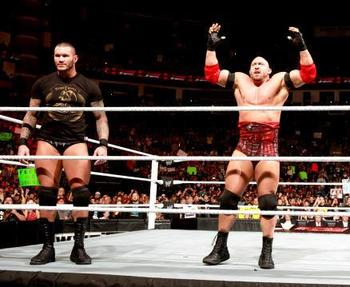 Randy Orton and Ryback (Courtesy of WWE.com)