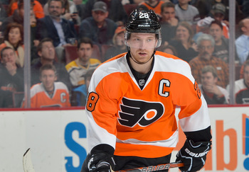 Giroux has 55 points in 50 playoff games.