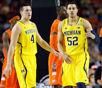 Jordan Morgan and Mitch McGary may both be in the starting lineup come November.