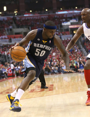 Zach Randolph can carry the Grizzlies far in the playoffs.
