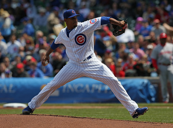 Edwin Jackson loves the third inning—he's given up just one hit in seven starts thus far.