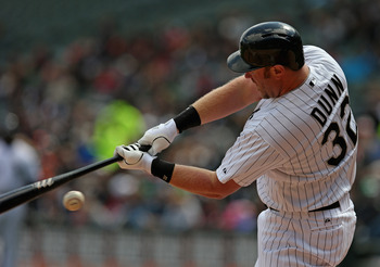 Adam Dunn has hit just .048 from the eighth inning on this season.