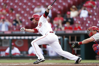 Much of Zack Cozart's woes at the plate can be attributed to his .181 average against right-handed pitching.
