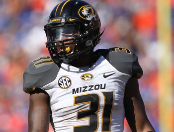 Missouri CB E.J. Gaines
